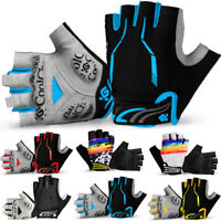 Motorcycle Cycling Gloves Bicycle MTB Bike Half Finger Racing Hand Accessories