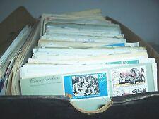 Schuhkarton voll Briefe Postkarten FDC - BRD DDR Weltweit Ausland Fundgrube ?!
