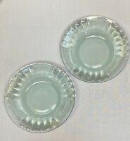"Set of 2 Green Glass Coca Cola Brand 7"" Bowl Tableware"