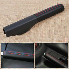 Handbrake Parking Handle Cover Leather for VW Jetta Golf Rabbit GTI EOS MK5 MK6