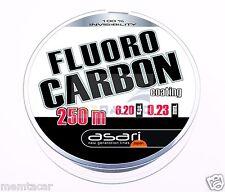 HILO ASARI FLUOCARBONO COATING 250 mts - Copolímero recubierto de fluocarbono