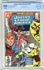 Justice League of America  #235  CBCS  9.6   NM+   White pgs 2/85  Cover forms s