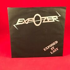"EXPOZER Exposed At Last !!!! 1980 UK 7"" vinyl single Rock Japan NWOBHM EXCELLENT"