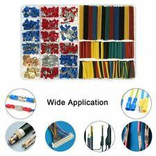 678 Pcs Car Electrical Wire Connectors Terminals Insulated Crimp Spade Set Kit