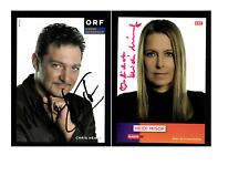 12 Autogrammkarten ORF  Moderatoren Original Signiert  ## K 702