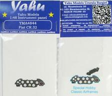 Yahu Model 1:48 Fiat CR.32 Color Instrument Panel for Special Hobby #YMA4844