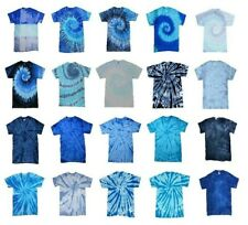 Pick a Blue Tie Dye T-Shirts Adult S M L XL 2XL 3XL 4XL 5XL Colortone