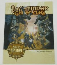 GUIDE TO ABSALOM - Pathfinder Chronicles - Paizo Game Book