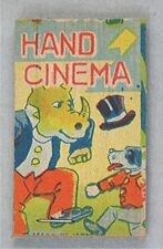 Vintage Hand Cinema - Rhinoceros - Flip Book - Japan