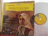 TCHAIKOVSKY: Symphony n°4 > Mravinsky / DGG Tulip Alle Hersteller stereo Germany
