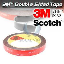 Genuine 3M VHB #5952 Double-Sided Mounting Foam Tape Automotive Car 15mm x 35FT