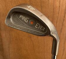 PING EYE 2 Orange Dot 4 Iron Men's RH Karsten Steel Shaft NICE
