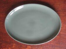 Vintage Denby Manor Green 12 ¼ ins. Oval Platter / Large Plate