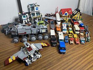 LEGO STAR WARS CLONE TURBO TANK 8098: 8019 7744 & many More  (read Description)
