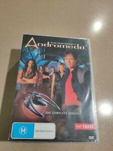 Andromeda - Season 3  DVD  10 disc set  RARE