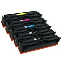 5x Toner Cartridge for HP 206X LaserJet Pro M255dw MFP M283fdw M283fdn (No Chip)