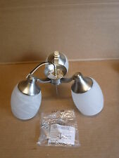 Quorum 3 Light Fitter 2326-865 3LT CFL FAUX ALAB Kit Lights Lighting