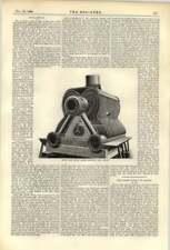 1893 Hms Speedy Water Tube Boiler Casing Removed