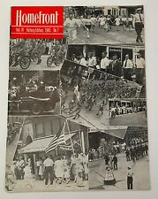 WWII Homefront Magazine Bangor PA Slate Belt Vol IV Victory Edition 1945 No. 7