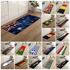 Non-Slip Flag Print Doormat Kitchen Bathroom Mat Floor Mat Washable Rug Carpet
