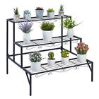 Heavy Duty Metal Plant Flower Pot Display Stand Holder Rack Home Shelf Organizer
