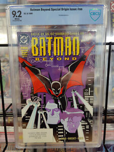 BATMAN BEYOND SPECIAL ORIGIN ISSUE (1999) - CBCS GRADE 9.2 - 1ST PRINTING!