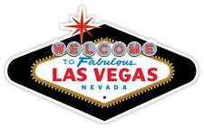 "Las Vegas Nevada retro sticker decal 5"" x 3"""