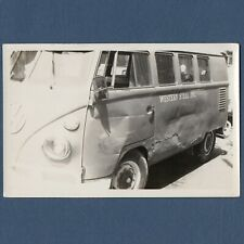 1960 VW BUS CONVERTIBLE To RAIL Photo 178-H