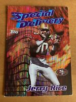 1997 Topps Special Delivery #21 Jerry Rice San Francisco 49ers