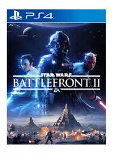 Star Wars Battlefront II Digital Download (Sony PlayStation 4, 2017)