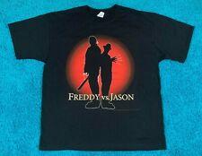 Xl vtg Freddy vs Jason movie t shirt krueger nightmare on elm street friday 13th