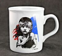 Coffee Tea Cup Mug 1986 Les Miserables Made In England Vintage Souvenir CMOL