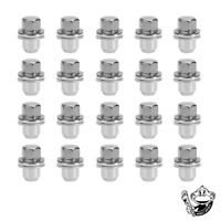 LAND ROVER DISCOVERY 3 & 4 ALLOY WHEEL NUTS X20  - RRD500510 OEM 22MM