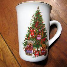 Giordano Art Ltd. Christmas Coffee Mug Tea Cup Tree Ornaments Teddy Bears