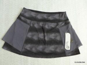 NWT KYODAN Wide Waist Mesh Overlay Tennis Skirt w/shorts Skort Size M