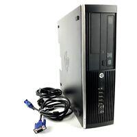 HP 6005 Pro Mini SFF Desktop PC 4GB 250GB AMD Athlon 3GHz Genuine Windows 10 PRO