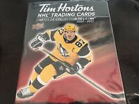 🔥 2020-21 TIM HORTONS UD HOCKEY CARDS MASTER SET 250 CARDS + BINDER - NO TRIOS