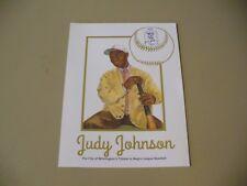 "Negro Leagues - Judy Johnson (6"" x 8"") Photo Card - 2015 - New"