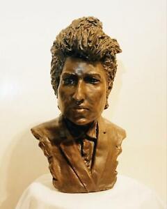 Bob Dylan Bust Figure