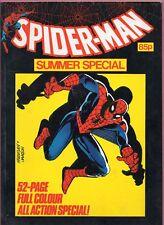 Spider-man Summer special 1984 comic Marvel Comics