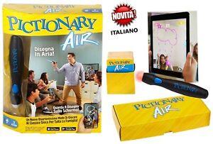 PICTIONARY AIR in ITALIANO Originale Mattel nuovo con scatola ultima versione