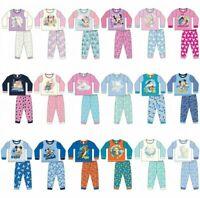 Children Character Pyjamas Kids Toddler Baby Pjs Set Nightwear 6-24 Months