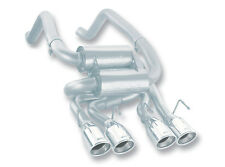 Borla Axle-Back Exhaust S-Type Classic part # 11744 For C6 Corvette 2005-2008