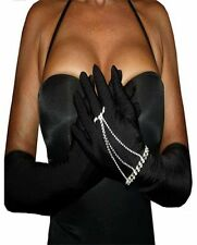 Miss Cleopatra Stunning Hard To Find Jeweled Slave Hand Thong Bracelet Ring