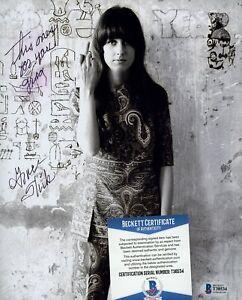 Grace Slick Signed 8x10 Photo AUTO Autograph Beckett BAS COA