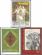 Lithuania 704,708,714 (complete issue) unmounted mint / never hinged 1999 specia
