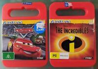 The Incredibles & Cars PC Games CD-ROM Disney Pixar THQ70653 THQ70660