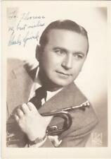 CHARLIE SPIVAK - SIGNED 5X7 PHOTO - 1940's - BIG BAND  - AUTOGRAPH