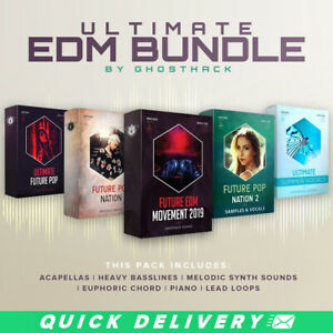 Ultimate EDM Bundle by Ghosthack   Audio and Music Production Pack  🔥