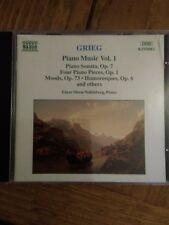 Audio CD. Naxos. Grieg Piano Music Vol. 1.
